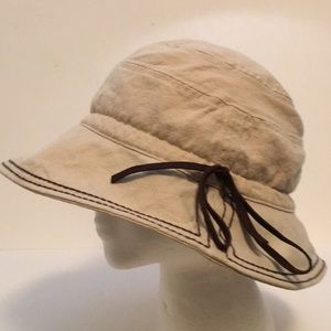 REI Hemp Cotton Wide Rim Sun Hat Fabric Canvas XL